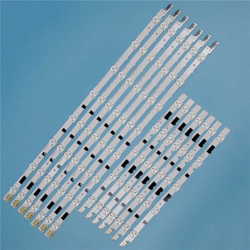 832mm 14 Piece/Set LED Array Bars For Samsung UE40F6100AW UE40F6100AK 40 Inches TV Backlight LED Strip Light Matrix Lamps Bands