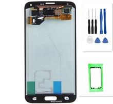 Coreprime Super AMOLED Замена для samsung GALAXY S5 G900 G900F ЖК-дисплей Дисплей Сенсорный экран планшета Ассамблеи + Инструменты