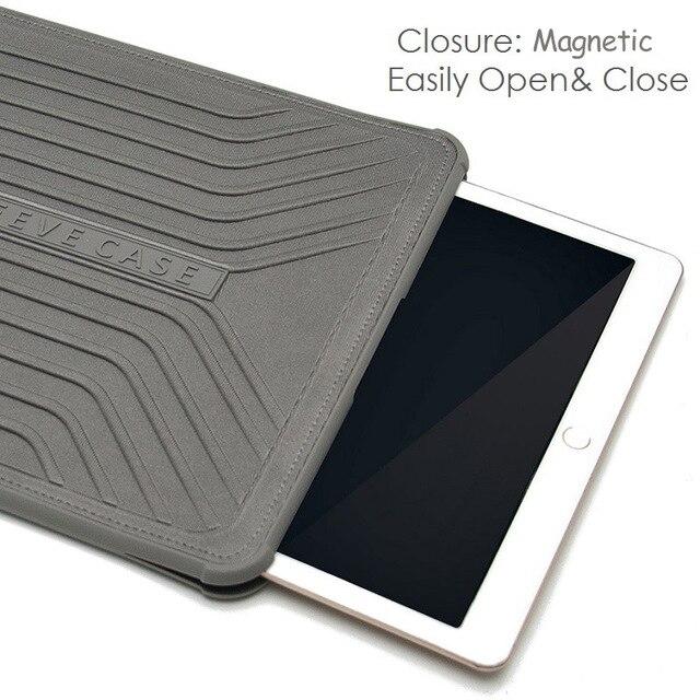 2016 Gearmax Laptop Case Чехол Для Ноутбука 11 12 13 Тонкий планшет Mешок Черный Мешок магнит Случае Нет Молния Крышка Неопрена Планшетный Рукав Моды Ноутбук Сумка