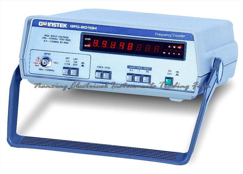 Compteur de fréquence numérique Gwinstek GFC-8010H 120 MHz à arrivée rapide