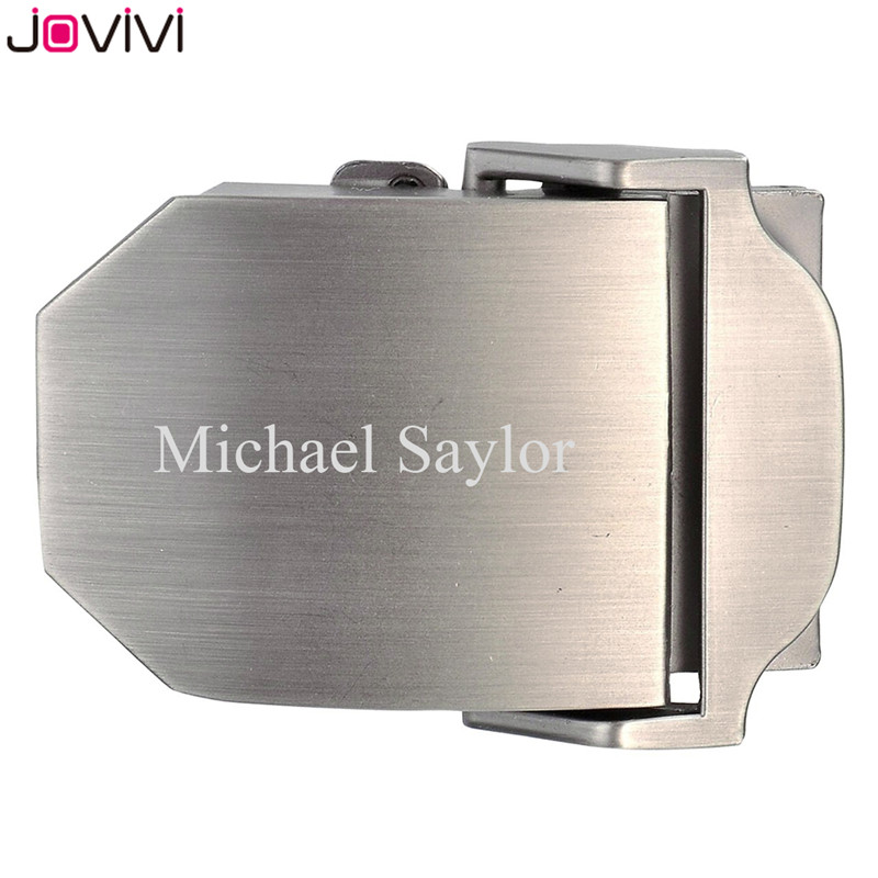Jovivi 1x Mens Customized Belt Buckles Military Automatic Adjustable Metal Buckle For Canvas Belt Father's Day Birthday Gift