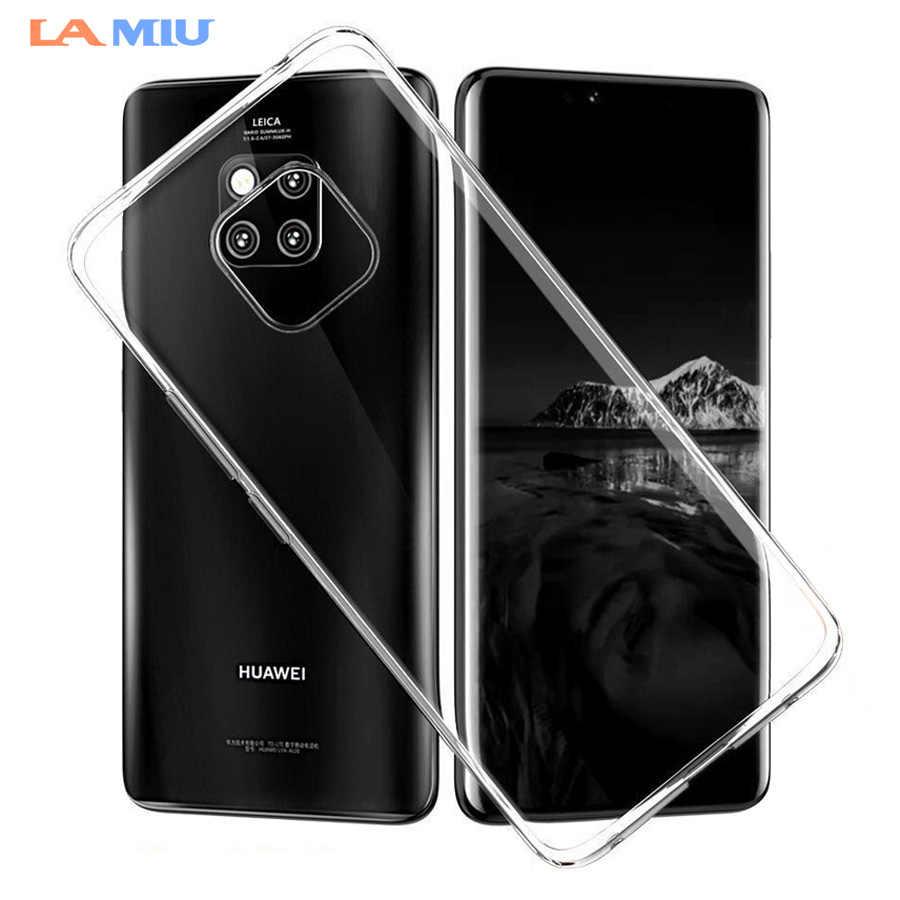 LA MIU Soft Clear TPU Case For Huawei Mate 20 Pro X Silicone Phone Case For 0fdd91ac6a9b