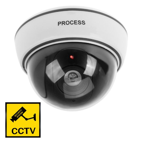 2 Packs Wireless Fake Dummy LED Surveillance Security Camera reccagni angelo потолочная люстра reccagni angelo pl 9600 3