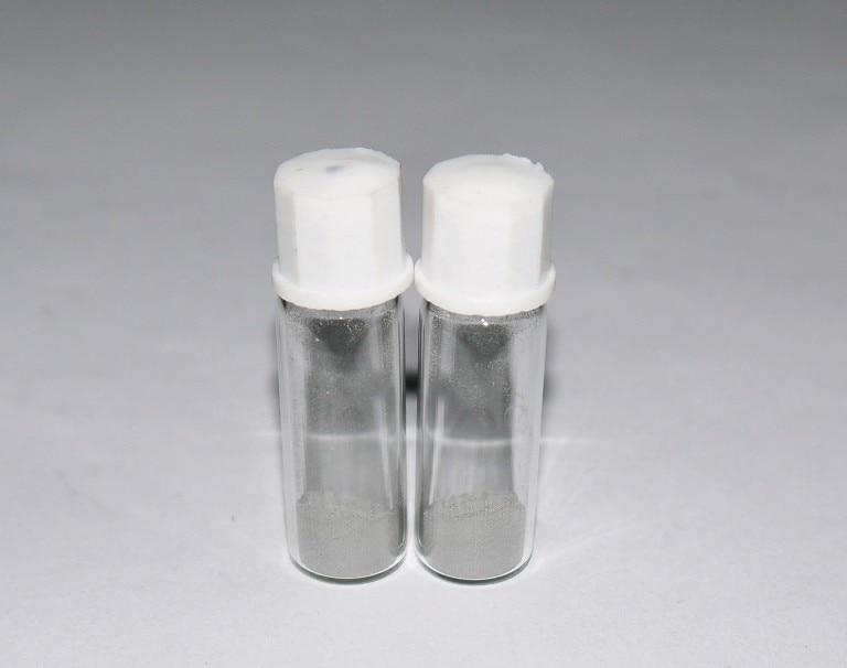 Ru 99,98%  Ruthenium metal  Powder in glass vial - Pure element 44 sampleRu 99,98%  Ruthenium metal  Powder in glass vial - Pure element 44 sample