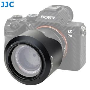 Image 2 - JJC LH SH131 Pétala estilo Capa de Lente Para Sony Sonnar T * FE 55mm f/1.8 ZA, sonnar T * E 24mm f/1.8 Lente Substitui Sony ALC SH131 ZA