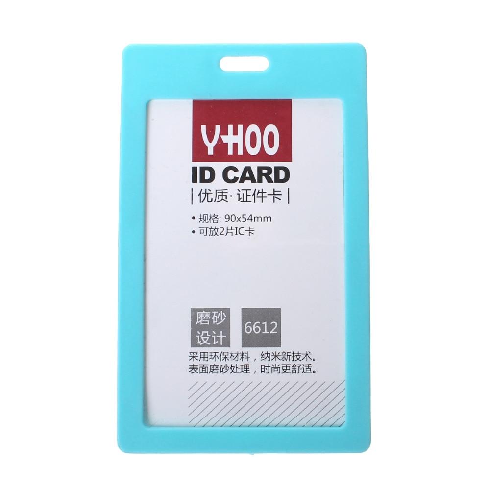 Дорин окно ПВХ вертикальные ID карты Знак Держатели фуксия/синий/красный/голубой/белый матовое 10.9 см x 6.7 см (4 2/8 x2 5/8), 10 шт.