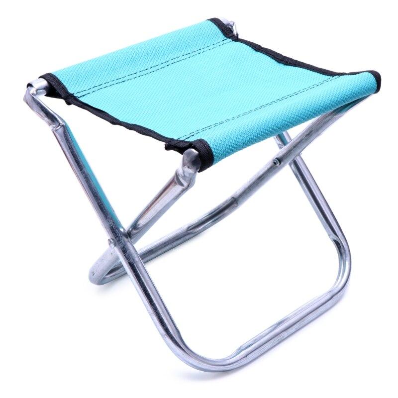 Portable Chaise Pliante Tabouret Siège de Pêche En Plein Air Camping Voyage Pique-Nique Randonnée