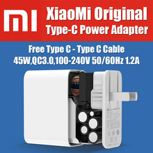 CDQ02ZM original Xiaomi Mi Notebook Air Type C Travel Quick Charger 45W QC3.0 PD2.0 Compatible for Macbook,All Type C Equipment(China (Mainland))