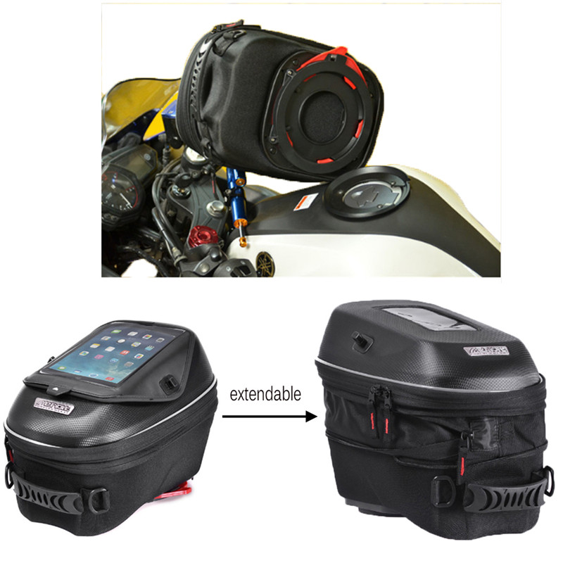 Motorcycle Mechanical Ring and Magnetic Tank Bag Waterproof Racing Package Bags for MV Agusta Brutale 675-800 (13 - 15) hot sale fits for mv agusta brutale 675 800 motorcycle accessories adjustable folding extendable brake clutch levers