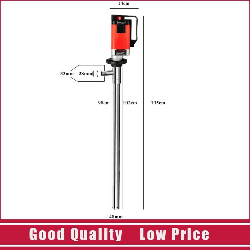 D98 2000W Big Power Plug Barrel Pump 220V Food Grade Honey/Ketchup Pump