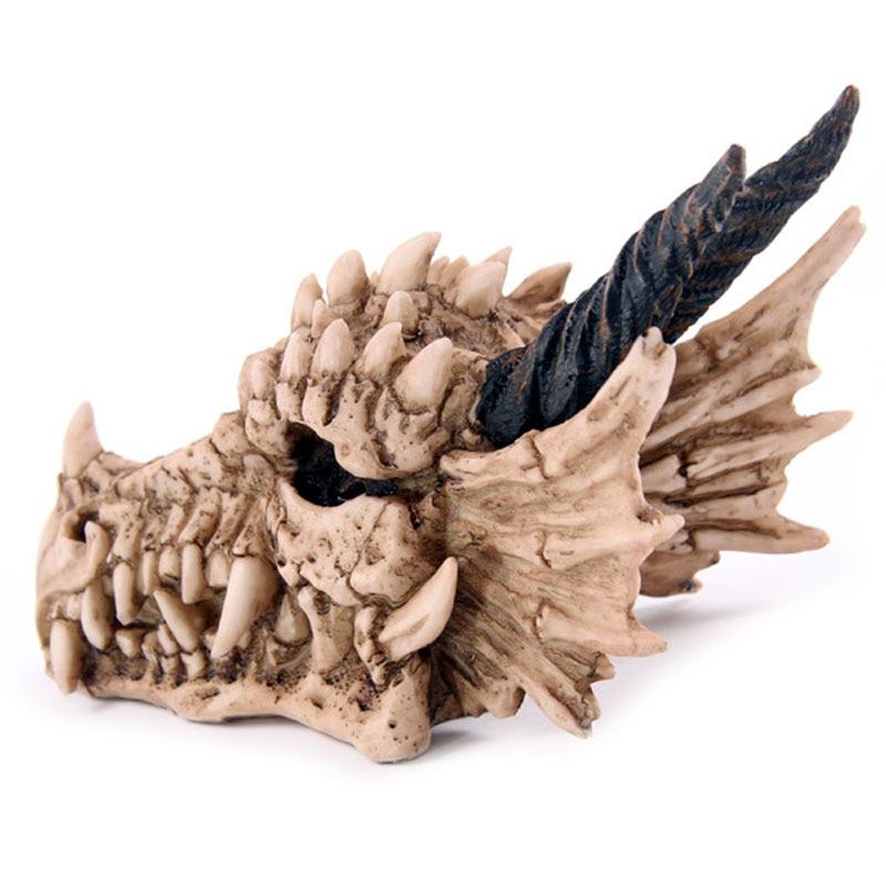 Horned Dragon Piggy Bank Great For Home Or Office Decor Dragon Skull Money Box Treasure Trinket Box