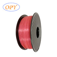 Shining Pla Monofilament Shine Solid Glitter Gold Silver Blue Pink Welding Winding Reel Wire Line Tolerance 0.05Mm Biodegradable