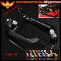 """7/8 """"22mm guarda protetor de guidão da motocicleta alavancas de freio de embreagem para yamaha fz8 mt-10 fjr 1300 xj6 desvio tdm 900"""