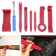 8pcs Hard Plastic Auto Car Radio Panel Interior Door Clip Trim Dashboard Removal Opening Tool Set DIY Repair Kit