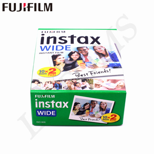 Image 3 - 10 100 Sheets Fujifilm Instax Wide White edge + Rainbow + Black Films for Fuji Instant Photo paper Camera 300/200/210/100/500AF
