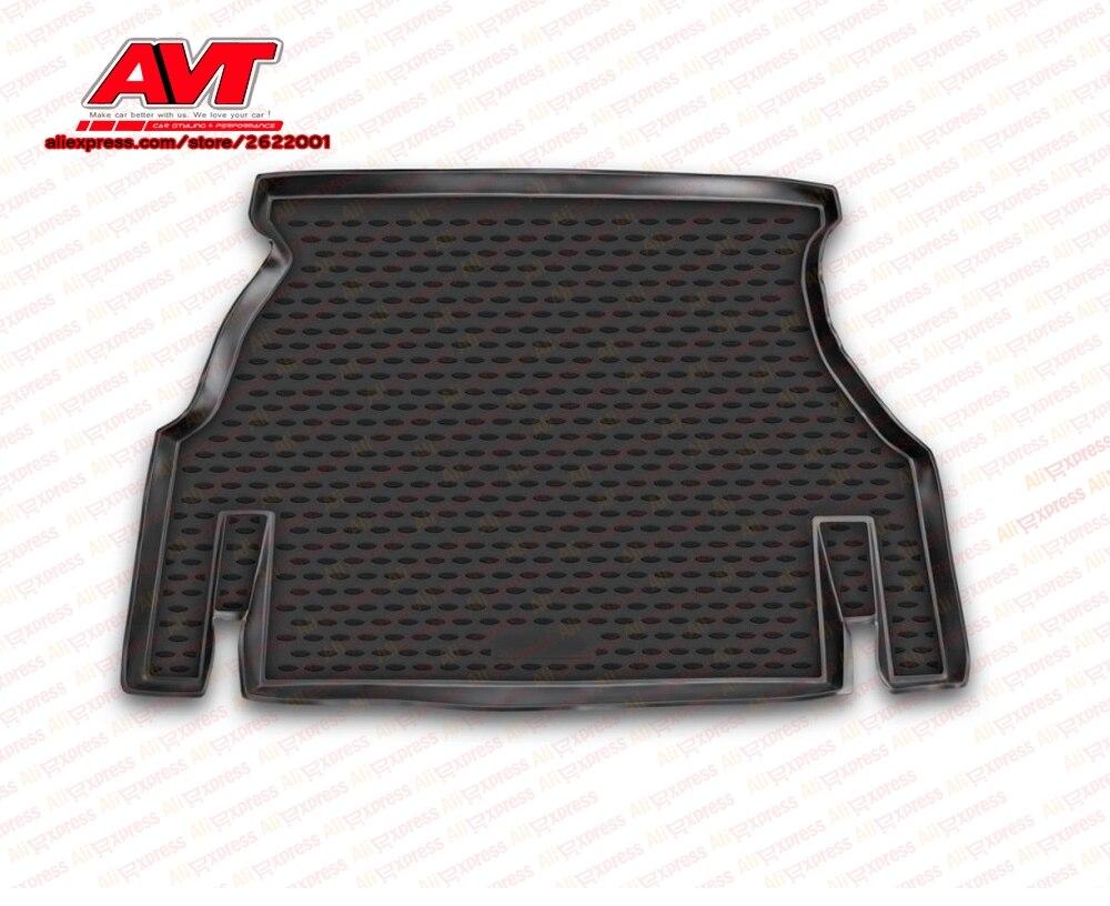 Коврики для багажника Daewoo Nexia 1995 sedan 1 шт. резиновые коврики Нескользящие резиновые аксессуары для интерьера автомобиля