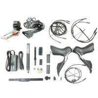 Shimano DURA ACE 2x11 скорость R9100 R9150 R9170 Di2 Электрические запчасти для дорожных велосипедов Groupset комплект для велосипеда все электронные части