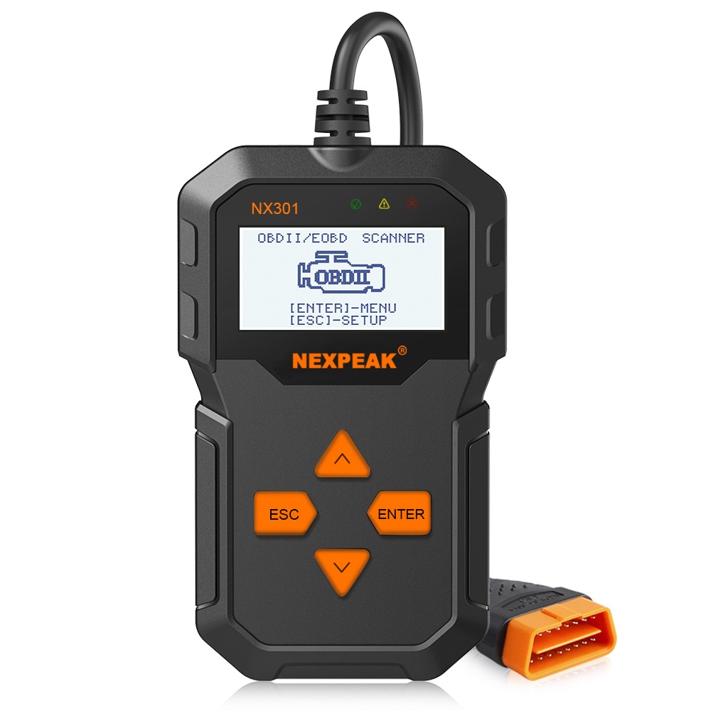 Best ODB OBD2 Scanner NEXPEAK NX301 OBD2 Car Diagnostic Scanner Multi-languages OBD2 Autos scanner in Russian Better Than AD310