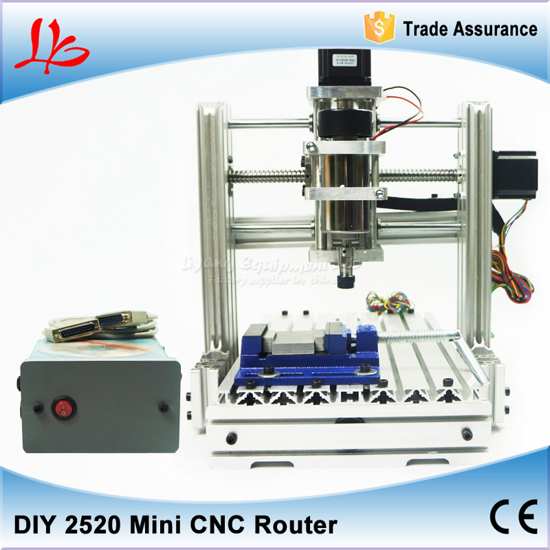 DIY Engraving machine 2520 3 axis CNC Router metal carving machine for woodworking eur free tax cnc 6040z frame of engraving and milling machine for diy cnc router