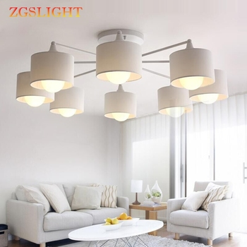 Modern LED ceiling Chandelier For Living Room E27 Chandelier Lighting With Lamp Shades Dining Chandeliers Kitchen Lamps lights