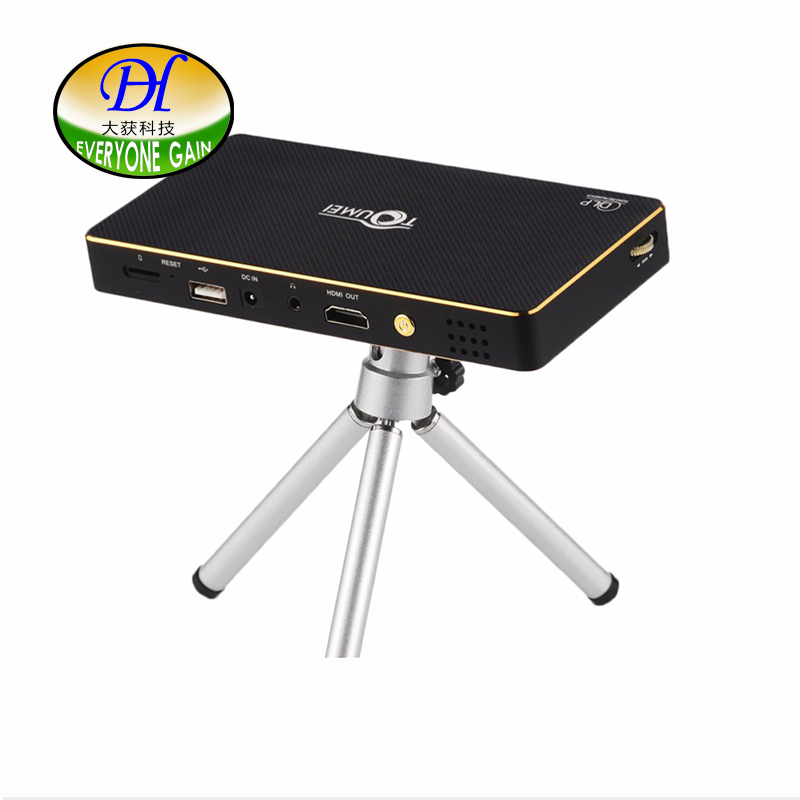 DH A Portable DLP Smart Mobile Phone Projector Android Mini Projector Support