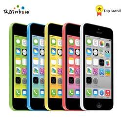 Original Unlocked Apple iPhone 5C iOS Dual Core 8GB/16GB/32GB 8MP Camera 4.0 inches WIFI GPS 3G Cell Phone
