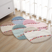 Bathroom Carpet Rug Heart-Shape Water-Absorption Toilt-Quality for Soft New-Design