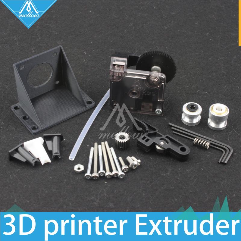 Prix pour Livraison gratuite 3D imprimante titan Extrudeuse Kits pour Bureau FDM reprap MK8 J-tête bowden En Option Prusa i3 support de montage
