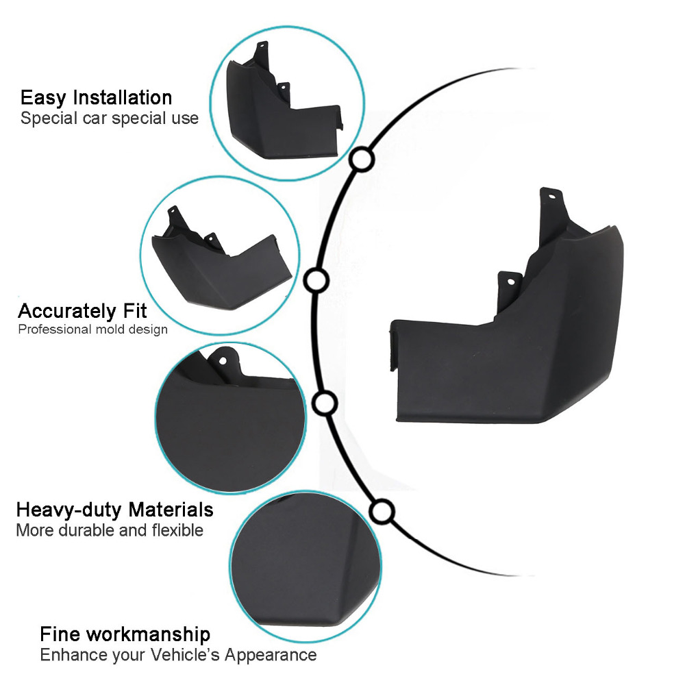 4x Mud Flaps For Land Rover Lr3 Discovery 3 2005 2009 Car Exterior Wiring Diagrams Front Rear Splash Guards Flap Mudguards Fender Ra019 In From Automobiles