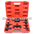 9pcs Professional Master Diesel Injector Extractor Set With Common Rail Adaptor Slide Hammer Injection Puller CDI Tool Kit Set