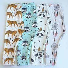 64856c3558353 Enfants Pantalon 2019 printemps automne Tao garçons filles harem pantalon  bébé renard panda tigre imprimer leggings
