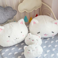 Cute soft rabbit pillow plush dolls animation rabbit toys