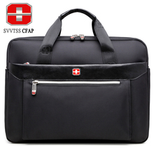 SVVTSSCFAP Men bag handbag business shoulder bag men briefcase messenger bag women nylon men's bags 15 inch laptop High quality