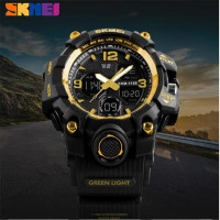 SKMEI Sports Watches Men Quartz Analog LED Digit Man Military Waterproof Wristwatch Relogio Masculino Saat Montre