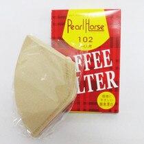 40 целлюлозы девственницы американская капельная кофемашина кофейник filterpercolator сетка фильтровальная бумага