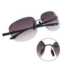 729bc31c3774 Outdoor Sun Readers Rimless Bifocal Reading Glasses Sunglasses Men and  Women +1.0 To +3.5