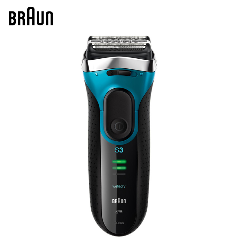 Braun 3080S Electric Shavers Series 3 Blades Shaving Machine Electric Razors For Men Washable braun electric shavers 5030s rechargeable reciprocating blades high quality shaving safety razors for men