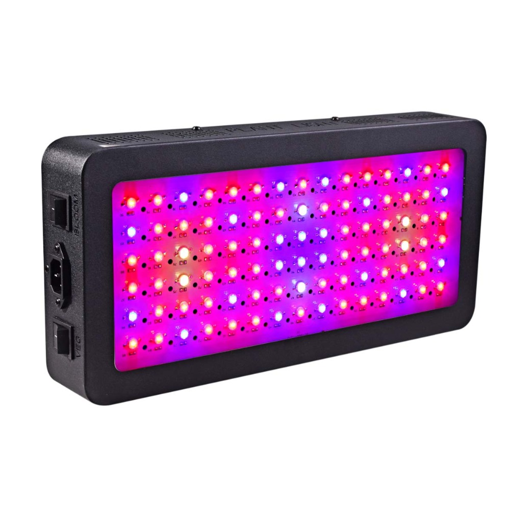 Dual Switches LED Grow Lights For Indoor Plants Veg/Flower Led Plant Grow Light Full Spectrum 600w/900w/1200w Led Grow Lamps