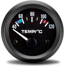 52 мм Автомобильный мотоциклетный указатель Цельсия белый светильник датчик температуры воды модифицированный Автомобильный датчик температуры Авто температура