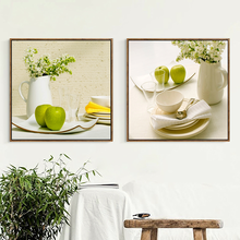 Modern Wall Art Painting Fruit Flower Vase Canvas Print Posters Pictures for Living Room Bedroom Farmhouse Home Decor Unframed(China)