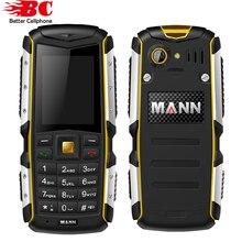Оригинал MANN Zug S 2.0 «IP67 Водонепроницаемый мобильный телефон пыле ударопрочный открытый старик прочный Dual SIM старший сотовый телефон