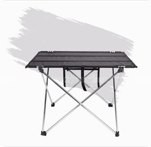 10PCS Outdoor Folding Table Camping Aluminium Alloy Picnic Table Waterproof Ultra-light Durable Folding Table Desk For Picnic