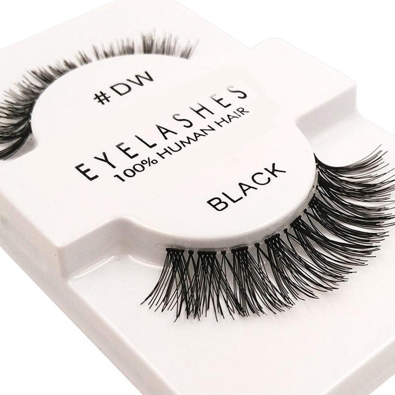 Handmade Thick Crisscross Valse Wimpers False Eyelash Woman Makeup Wimper Extensions Fake Eyelashes 3d Wispy Lashes