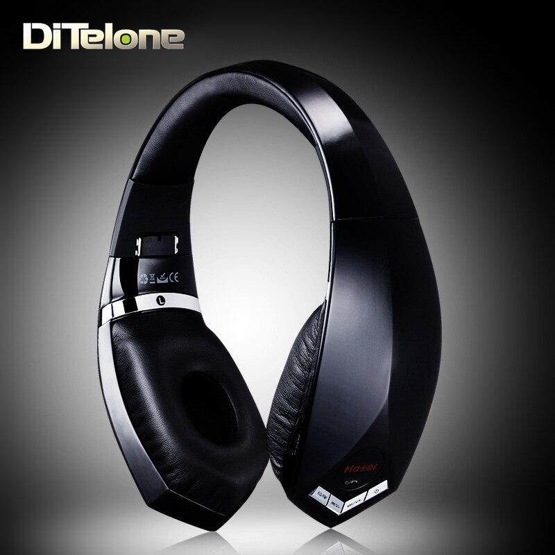 ФОТО HAOER S600T Bluetooth Headphones Wireless Bass Stereo Headset Headband Support APTX FM Radio TF Card Dual MIC Noise Cancelling