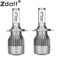 Zdatt H4 H7 Led Light Bulb Lamp Car Headlight 9003 HB2 9005 HB3 9006 HB4 H8