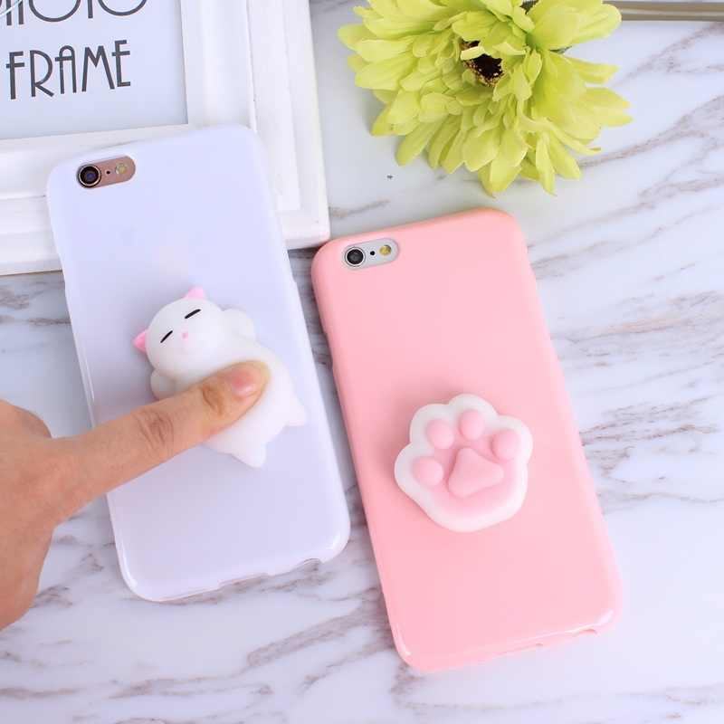 bc80336d59 Detail Feedback Questions about 3D Cute Squishy Bear Seal Phone Case ...