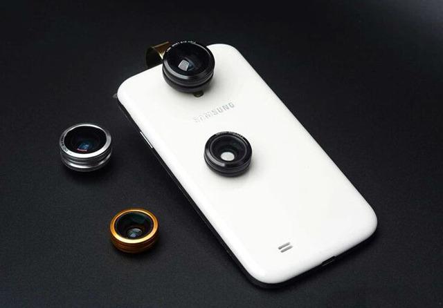 Anillo de Metal Teléfono Móvil Clip Lente ojo de Pez Lente gran angular micro lente Para Sony Xperia X, Xperia XA, Xperia X Rendimiento