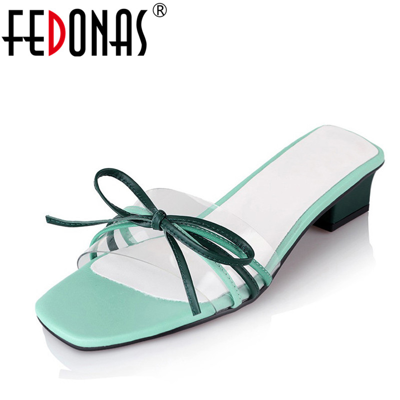 FEDONAS 2018 Summer Sandals Women Bowknot Slippers Fashion Flip Flops Bohemian National Style Women Sandals Female Shoes Woman summer sandals beaded flowers platform wedges women slippers fashion flip flops hot bohemian national style women sandals