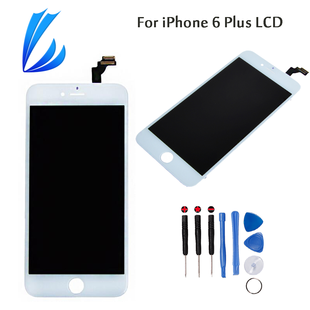 LL TRADER Mobile Phone Parts Replacement For iPhone 6 Plus Touch Screen 5.5'' LCD Display Assembly Digitizer No Dead Pixel+Tools