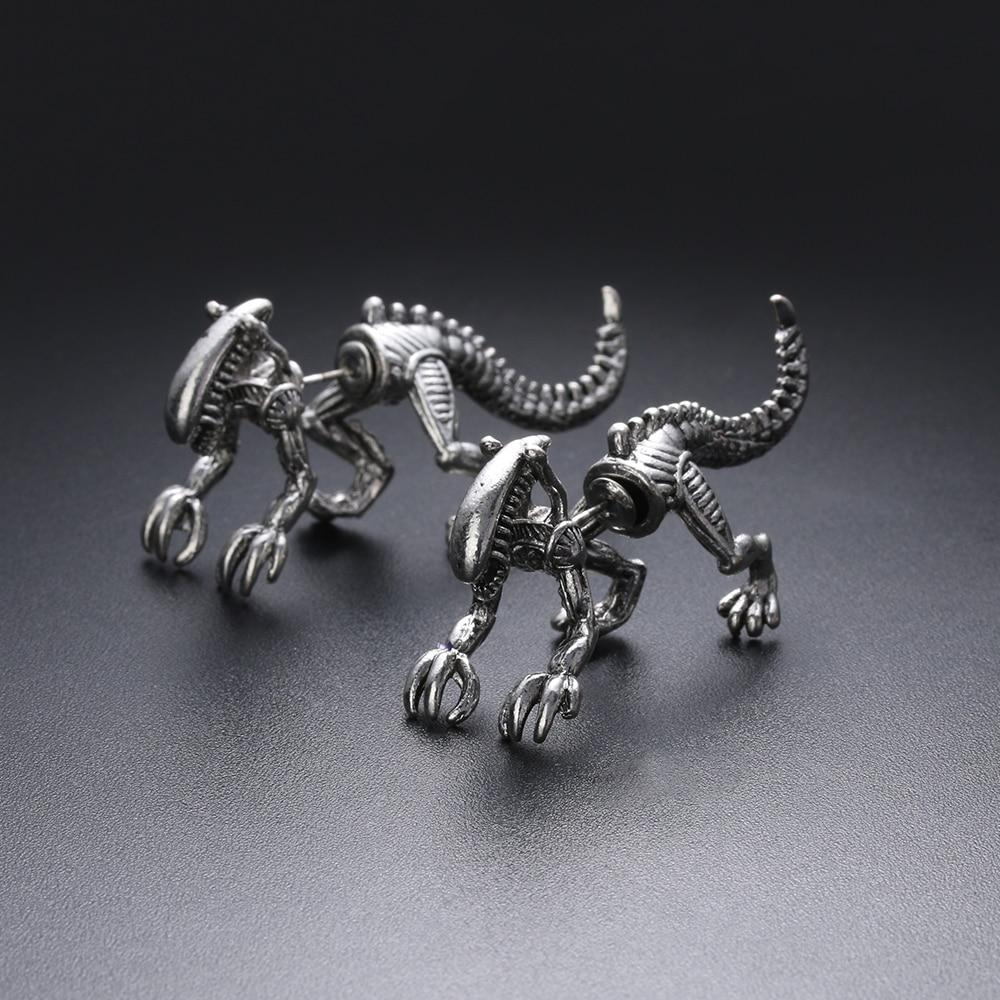 Alien Stud Earrings